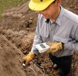 Measuring thermal properties of soils